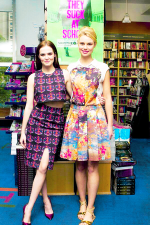 Zoey and Lucy in Australia