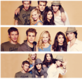 TVD cast / season 3 - the-vampire-diaries fan art