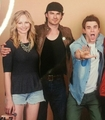 Candice, Ian   Nate - the-vampire-diaries photo