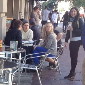 Paul Wesley, Nina Dobrev, Candice Accola and Phoebe Tonkin at Savannah Film Festival