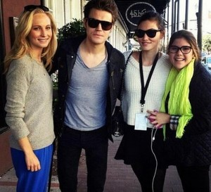 Paul Wesley, Nina Dobrev, Candice Accola and Phoebe Tonkin at Savannah Film Festival