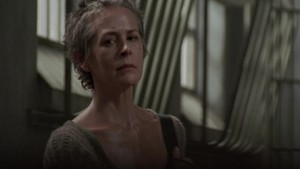 Carol Screencap, '3x13: Arrow on the Doorpost'