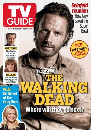 TV Guide Cover - Rick