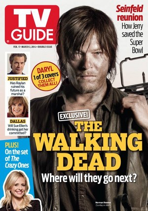 TV Guide Cover - Daryl