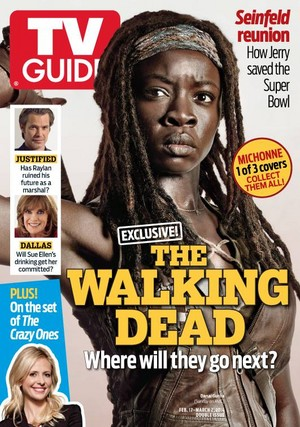 TV Guide - Michonne