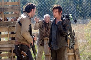 Rick and Daryl