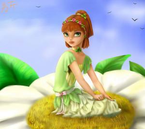 Flora's sister