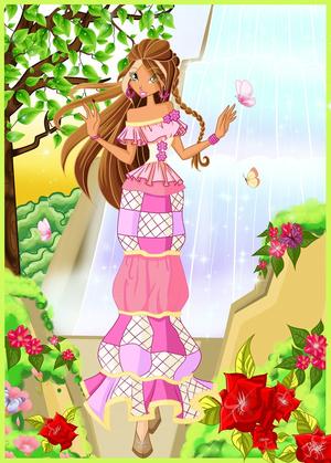 Flora: Season 6 Dress