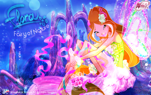 Flora: Harmonix Wallpaper