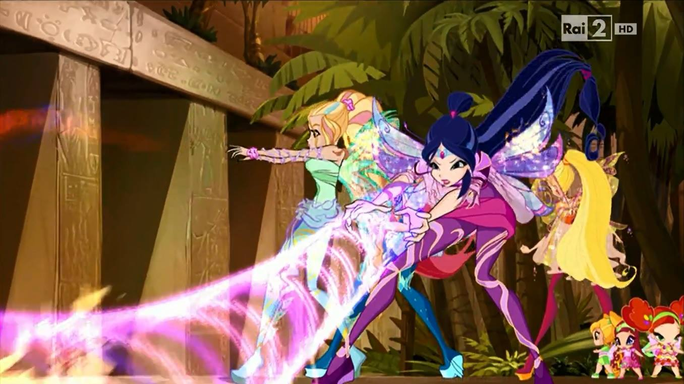Musa and Daphne~ Bloomix and Sirenix