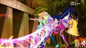 Musa and Daphne~ Bloomix and Sirenix