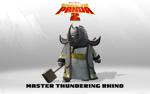 Master thundering rino