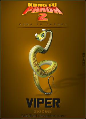 kung fu panda 2 vipera