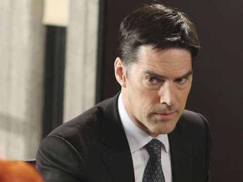 Thomas Gibson wallpaper containing a business suit entitled Thomas Gibson