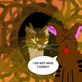 Tigerstar I DO NOT HAVE THREE EARS!!! - warrior-cats fan art