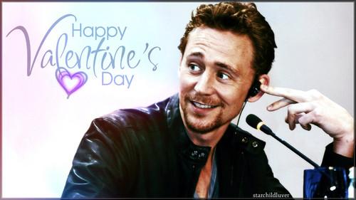 Tom Hiddleston wallpaper titled Tom Hiddleston ~Happy Valentine's Day