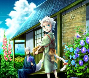 Toushiro Hitsugaya and джин Ichimaru