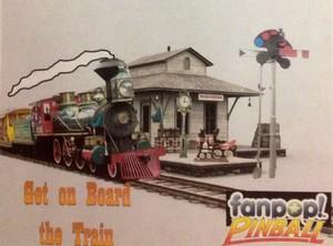 Train Pinball Ad
