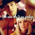 You came here to say goodbye. - tyler-and-caroline fan art