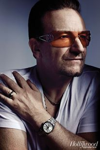 U2 wolpeyper with sunglasses entitled U2 - Hollywood Reporter litrato Shoot