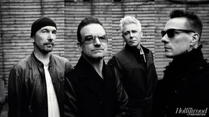 U2 - Hollywood Reporter 写真 Shoot