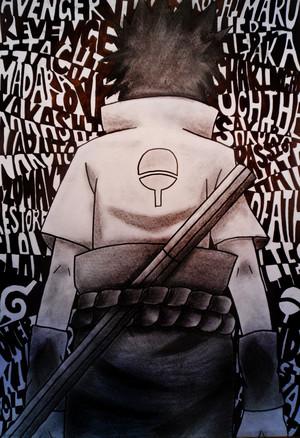 My Sasuke fanart