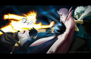 *Naruto / Sasuke / Tobirama v/s Obito*