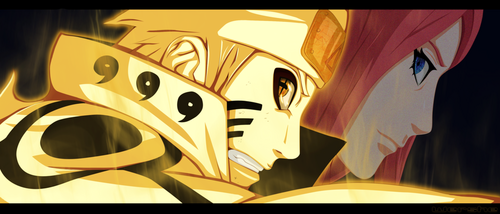 Naruto Uzumaki (shippuuden) fond d'écran entitled *Naruto / Kushina*