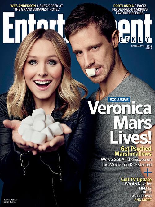 Veronica Mars Exclusive: Kristen ঘণ্টা and Jason Dohring Get Steamy!