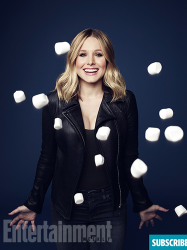 Veronica Mars achtergrond probably containing an egg and a jawbreaker titled Veronica Mars Movie - New Portraits