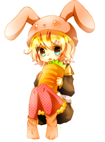 Vocaloids wallpaper called Kagamine Rin :D