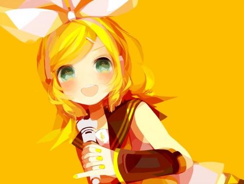 Vocaloids wallpaper called Rin Fan Art