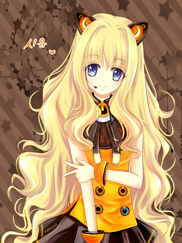 Vocaloids wallpaper called SeeU Cute Fan Art