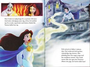 Walt Disney Book afbeeldingen - Ursula, Vanessa & Prince Eric