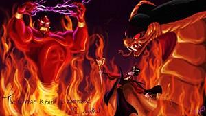 Walt 디즈니 팬 Art - Jafar