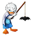 Walt Disney Fan Art - Dewey Duck - walt-disney-characters fan art