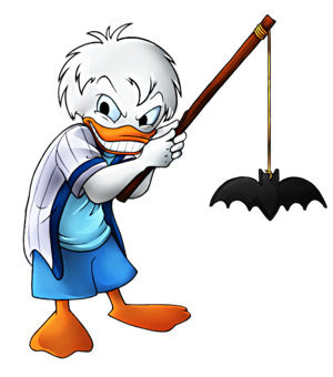 Walt disney fan Art - Dewey bebek