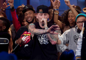 MGK performs on Wild 'N Out