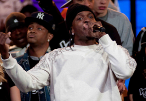 Pusha T performs on Wild 'N Out