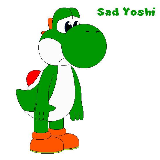 Sad Yoshi
