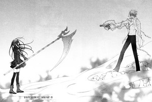Zero Kiryuu and Yuuki пересекать, крест