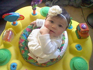 My baby niece, Jasmynn
