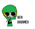 BEN DDrowned - creepypasta photo
