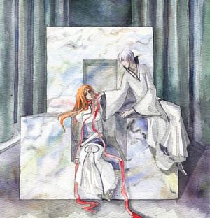 ginebra Ichimaru and Orihime Inoue