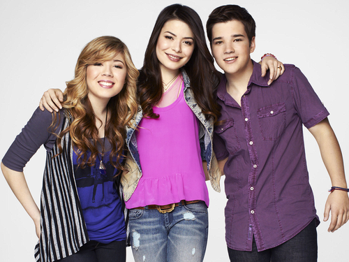 iCarly wolpeyper probably with a pantleg, a well dressed person, and long trousers entitled iCarly