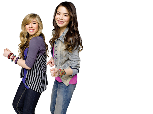 iCarly वॉलपेपर containing a well dressed person, long trousers, and a पैंट लेग, pantleg called Carly & Sam
