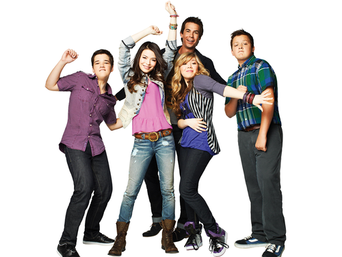 iCarly वॉलपेपर with a pantleg, bellbottom trousers, and long trousers titled iCarly