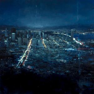 Cityscapes sa pamamagitan ng Jeremy Mann
