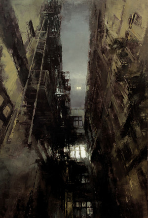 Cityscapes by Jeremy Mann