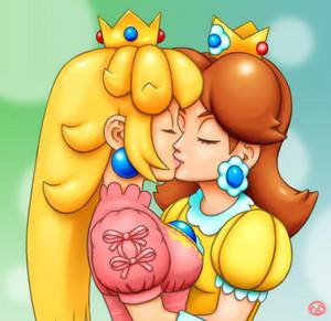peach x daisy